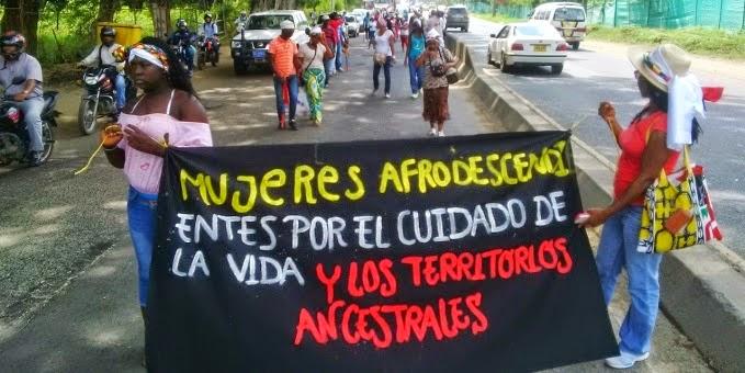 Mujeres negras del Cauca, afirman estar amenazadas por rechazar minería ilegal